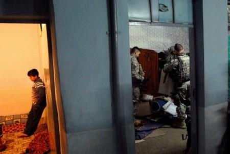 Night raids, Iraq, January-March