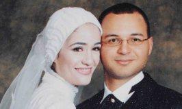 Η Marwa el_Sherbini με τον σύζυγό της (φωτο EPA)