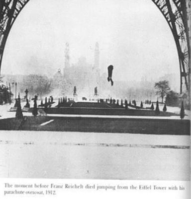 ο Franz Reichelt λίγο πριν σκάσει στο έδαφος [Enlarge-agrandir-μεγαλώστε]