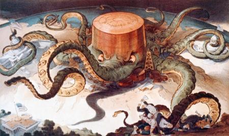 1904: Το χταπόδι της Standard Oil - 1904: The Standard Oil octopus - 1904: La pieuvre de la Standard Oil [Enlarge-agrandir-μεγαλώστε]