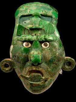 A jade mask from the classic period [Enlarge-agrandir-μεγαλώστε]