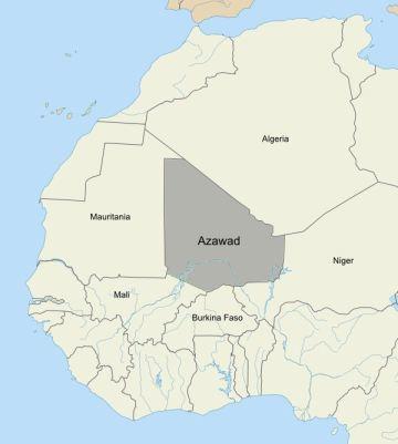 Ο βόρειος τομέας του Μαλί: Azawad - [Enlarge-agrandir-μεγαλώστε]