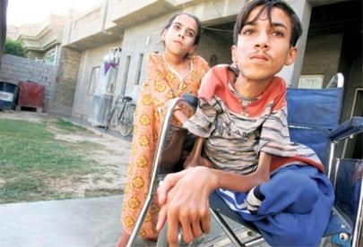 Les enfants victimes des armes expérimentales à Falloujah Iraque