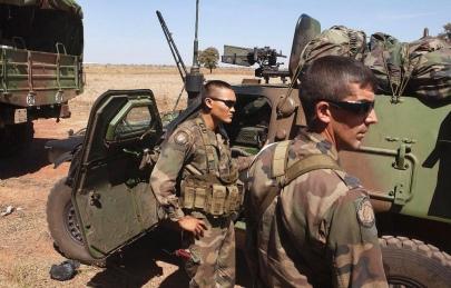 """Γαλλία: Στρατιώτες της επιχείρησης """"μονοκέρος"""" - France: Soldiers of the Operation Unicorn [Enlarge-agrandir-μεγαλώστε]"""