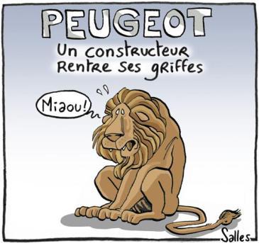 Το λιοντάρι της Πεζό που έγινε γάτα [Enlarge-agrandir-μεγαλώστε]