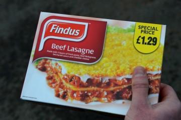Findus: Λαζάνια από αλογάκι - Findus: Lasagna of Horse Meat - Findus: Lasagnes de Viande de Cheval [Enlarge-agrandir-μεγαλώστε]