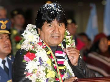 Έβο Μοράλες, πρόεδρος της Βολιβίας και γιος του Ινδιάνων ανθρακωρύχων - Evo Morales, President of Bolivia and son of Indian miners - Evo Morales, président de Bolivie et fils de mineurs Indiens [Enlarge-agrandir-μεγαλώστε]