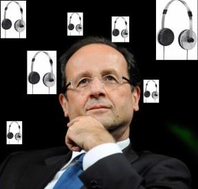"""Φρ. Ολλάντ: «Ναι, Σας Σαρώνουμε Επίσης! Πάρτε το Απόφαση! Σας Παρακολουθούμε» - François Hollande: """"Yes we Scan You Too! Deal With It! We Are Watching You!"""" - François Hollande: «Oui, on Vous Scanne Aussi! Réconciliez-Vous Avec Ceci! Nous Vous Observons!» [Enlarge-agrandir-μεγαλώστε]"""