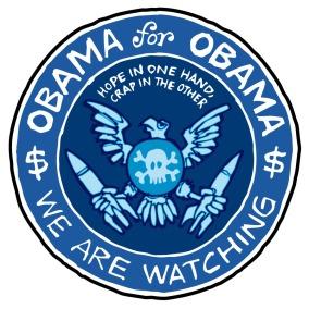 Η σφραγίδα του Ομπάμα - The seal of Obama - Le sceau de Obama. Via [Enlarge-agrandir-μεγαλώστε]
