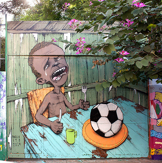Rivals of World Cup found their picture via  Paulo Ito