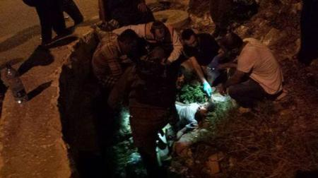 Zionist settlers are running down Palestinian children with their cars in village of  Surif