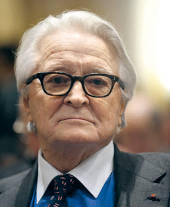 Ο πρώην υπουργός Εξωτερικών Roland Dumas - The former Foreign Minister Roland Dumas - L'ancien ministre des Affaires étrangères, Roland Dumas