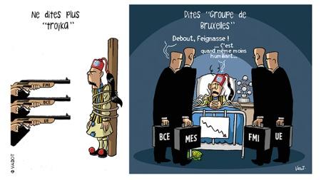 Με 4 κεφάλια πλέον η τρόικα!-With 4 heads henceforth the troika!-Avec 4 têtes désormais la troïka ! [Μεγαλώστε - Enlarge - Agrandir]